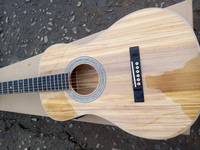 free shipping AAAA all Solid imported olive wood OOO28K style custom guitar acoustic electric guitar