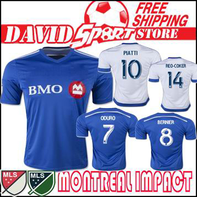 ... new Herbalife Nutrition logo on jerseys Source · Montreal Impact 2015 16  Home away soccer jersey Blue white LA Galaxy 3920a486f4174