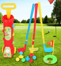 outdoor fun & sports kids golf toy set /Parent-child toys Early educational Toys for children 16pcs/set