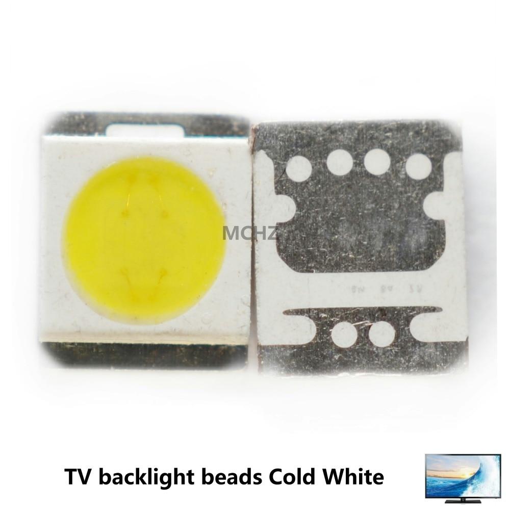 100PCS SEOUL LG High Power LED LED Backlight 1210 3528 2835 1W 100LM Cool white SBWVT121E LCD Backlight for TV TV Application