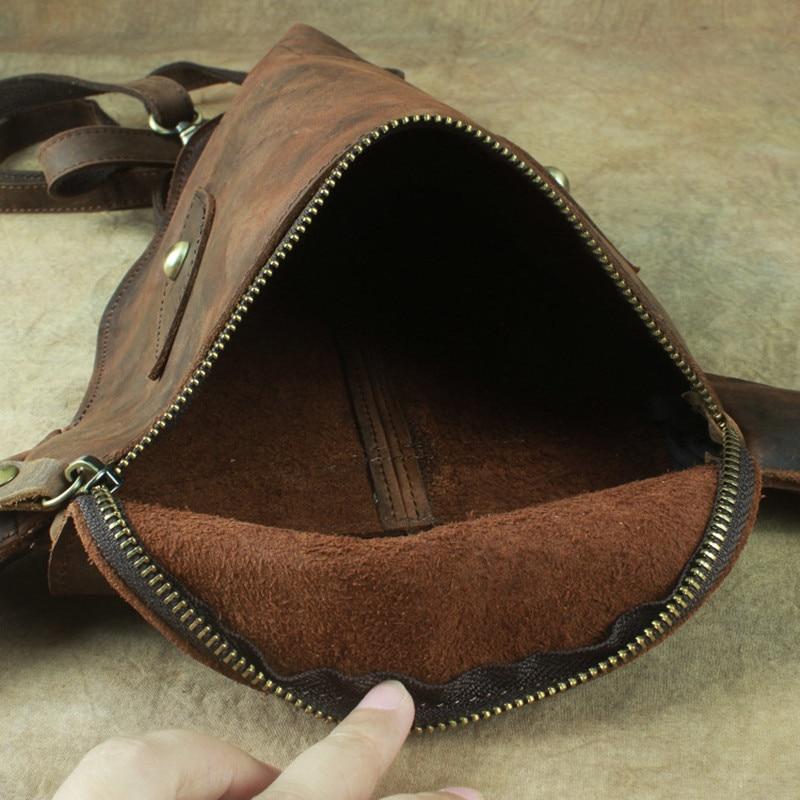Aus Totem Rucksack Vintage Schulter 2 Frauen 1 4 Rucksäcke Crazy Männer Kopf Original 3 Leder Echtem Tasche Bull Und Handarbeit Horse Bwq50aC