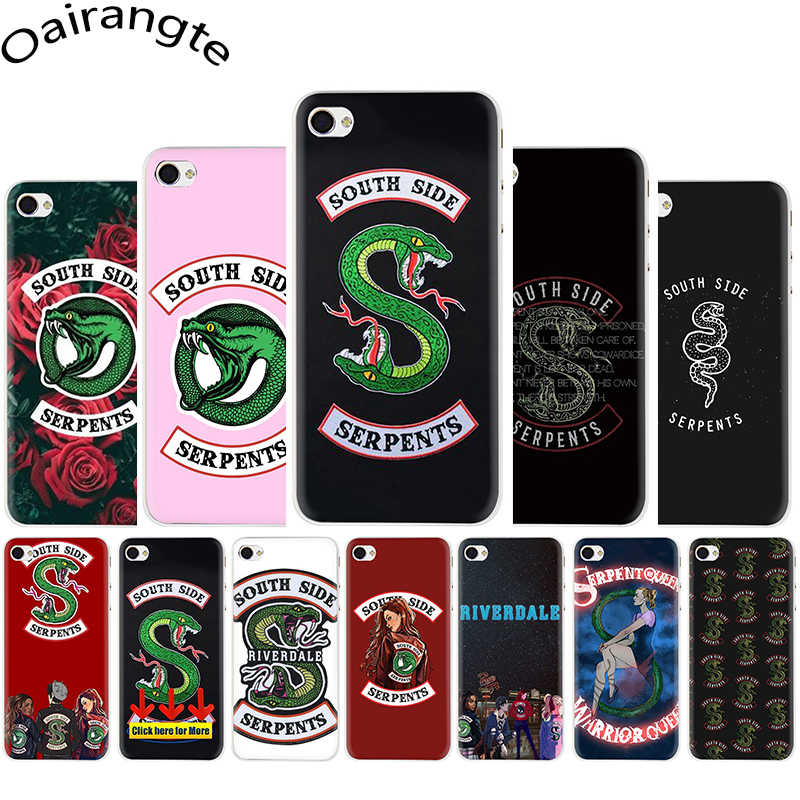 Riverdale South Side Serpents Hard phone cover case for iphone 5 5s 5C SE 6 6s 7 8 plus X XR XS Max