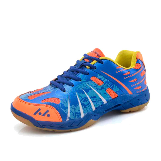 2018 Men Badminton Shoes EVA Muscle Anti-Slippery Training Professional Sneakers Women Sport Badminton Shoes Plus 100% original kawasaki badminton shoes men and women badminton training shoes whirlwind series k 515 516