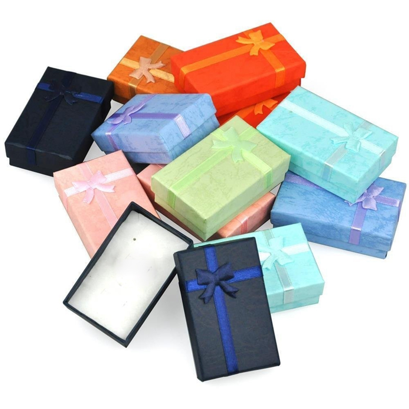 12pcs Assorted Jewelry Gifts Boxes For Jewelry Display