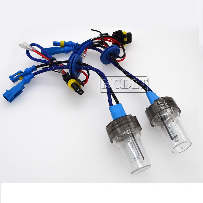 HCDLT 35W 55W Xenon H7 H1 H3 H11 HB3 HB4 D2H HID Bulb 5500K For Car Headlight Fast Bright Canbus DLT Hylux Xenon Ballast HID Kit