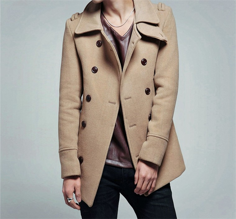 Online Get Cheap Mens Pea Coat Sale -Aliexpress.com   Alibaba Group