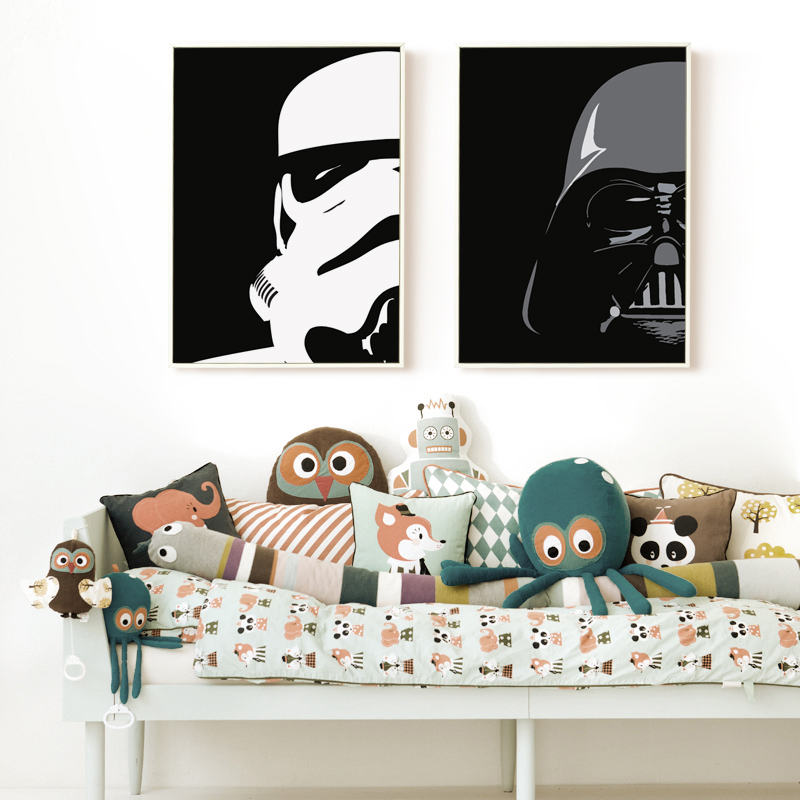 ᐅbianche wall star wars darth vader imperial stormtrooper simple