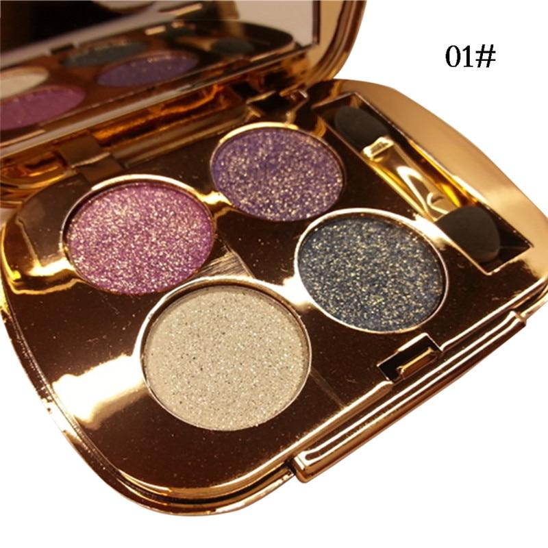 Makeup Eyeshadow Palette Matte Smoky Eye Shadow Naked Colorful Cosmetics Professional Shining Eye Shadow