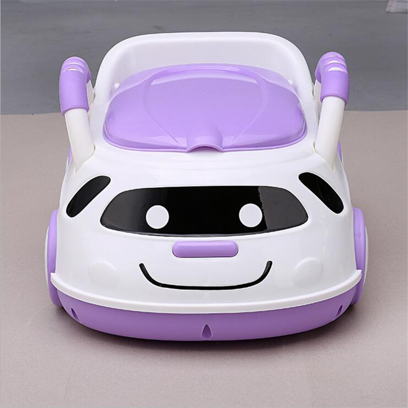 Cute Bebe Camping Car Portable Potty Child Cartoon Toilet Seat Kids Pinico WC Toilets For Boys & Girls Baby Potty Training Free 12