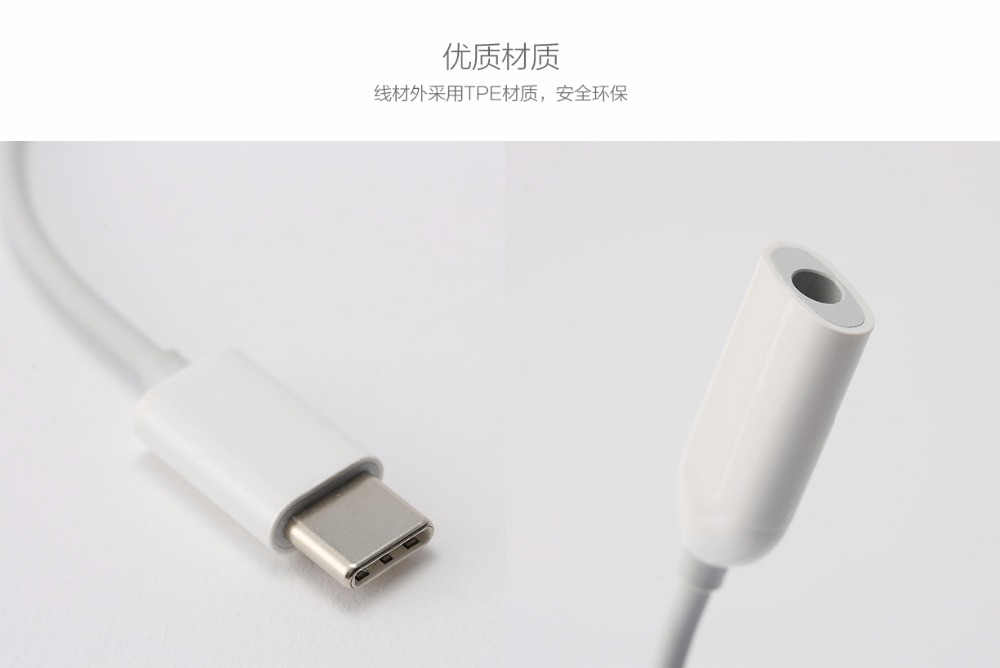 Image 3 - Original Type C to 3.5mm Earphone cable Adapter type C USB male to 3.5 AUX audio Jack for XIAOMI Mi 9 6 Note3 8 8se a2 6x-in Mobile Phone Cables from Cellphones & Telecommunications