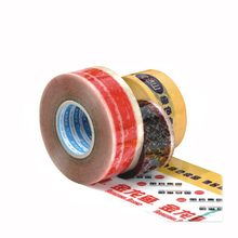 Free logo imprinted package glue tape +free ship by DHL + logo deign service Clear Transparent company Packaging Adhesive Tape