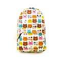 2016 graffiti impresión mochila de lona de moda kpop mochilas escolares para las niñas adolescentes mochilas mochila bolsa mochila de dibujos animados 899 t