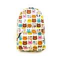 2016 graffiti printing canvas backpack fashion kpop school bags for teenager girls cartoon rucksacks daypack bolsa mochila 899t