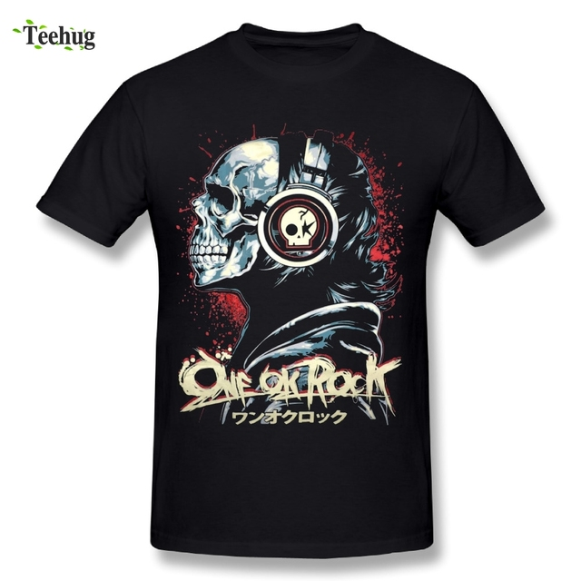 d4c341bf840 2018 Male One Ok Rock T Shirts Round Neck Design Fashion Streetwear Rock  And Roll T-Shirt
