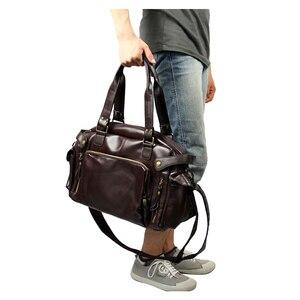 Image 2 - ABDB male bag England Retro Handbag shoulder bag PU leather men messenger bags brand high quality mens travel crossbody bags