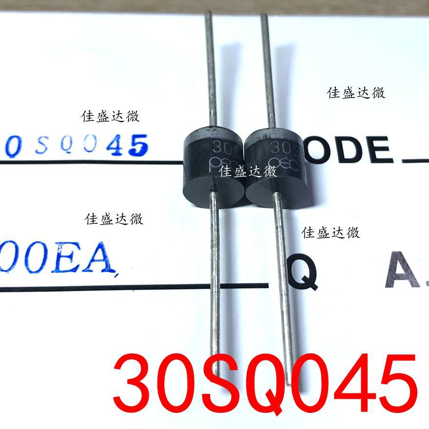 100pcs/lot  New Original  30SQ045 R-6 30A 45V Diode P600 30SQ045