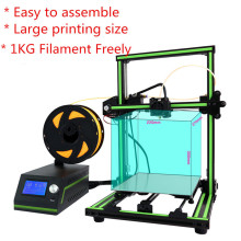 Anet E10 3D Printer Impresora Easy Assemble Imprimante Electronic DIY 3D Kits Large Printing Size Free 1KG PLA/ABS Filament