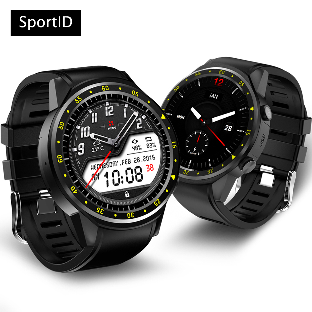 New Smart Watch Men GPS Sports Smartwatch F1 Bluetooth Wristwatch Heart Rate Monitor Fitness Tracker SIM TF Card for Android IOS