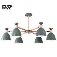 Дар современный подвесные лампы самонаведения освещения подвесной светильник Hanglampen блеск Led Люстра для Гостиная Спальня