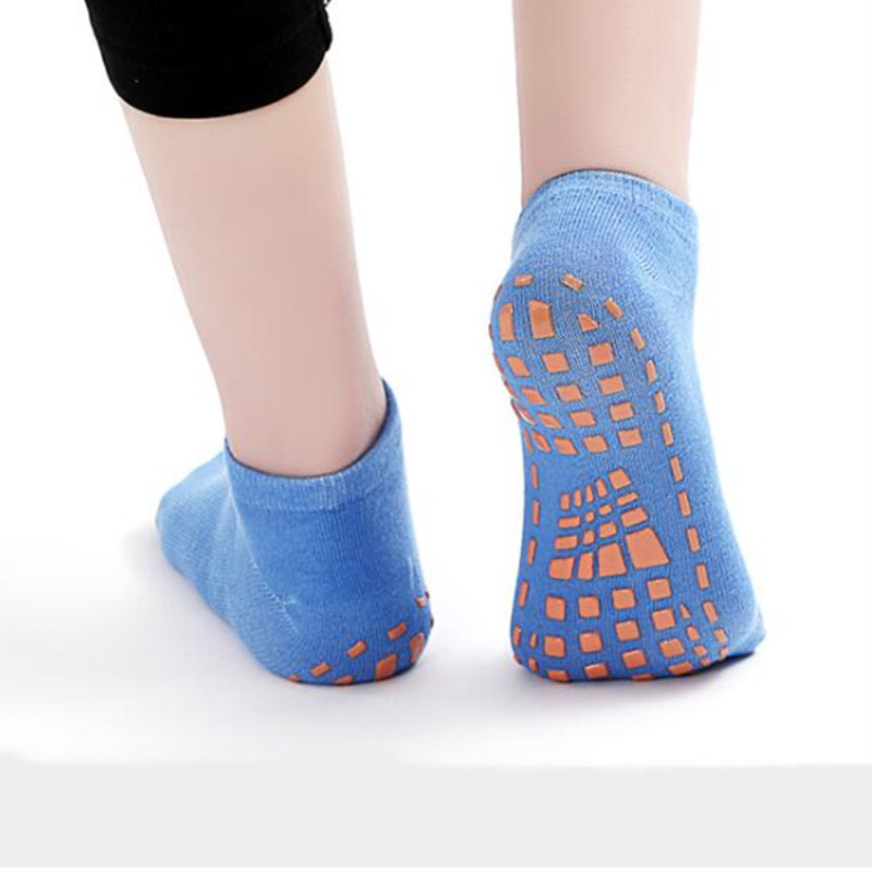 Boys Girls Sport Socks Anti-slip Yoga Socks Pilates Ballet Good Grip For Child Boys And Grils Cotton Sock Trampoline Socks
