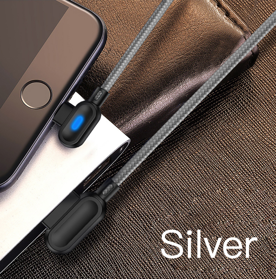!ACCEZZ 90 Degree Micro USB Cable Fast Charging For Xiaomi Redmi Note 5 Pro Samsung S6 S7 Huawei Tablet Android Data Sync Cables (10)