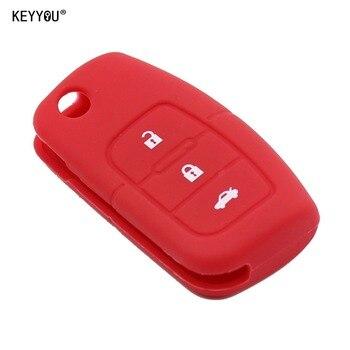 Cover in silicone telecomando/chiave per Ford focus 2 Ecosport Fiesta Focus Mondeo Ecosport Kuga