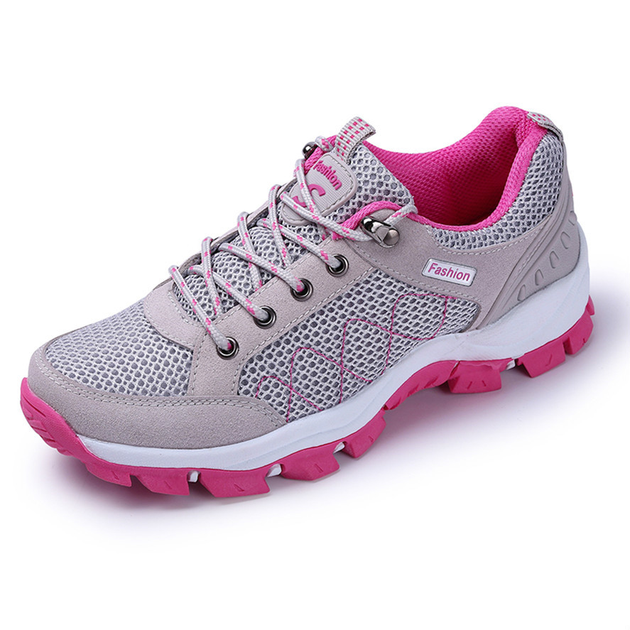 KERZER Women Sports Running Shoes Spring/Summer Athletic Walking Sneaker Mesh Breathable Gym Sneakers Cheap Sport Trainers Girls