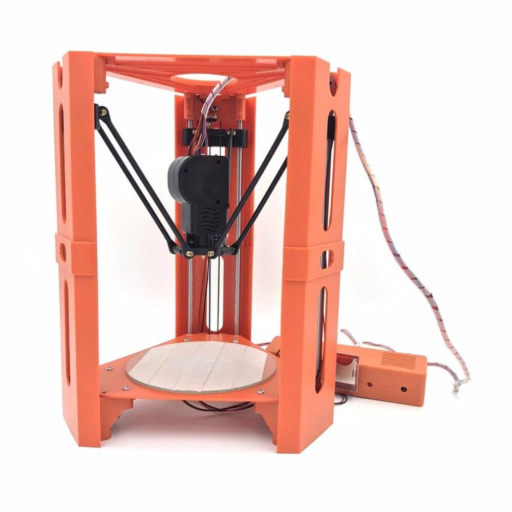 3D Printer Mini Home Printer impresora 3D Pulley Version Linear Guide imprimante 3d printer diy Large Printing Size цена
