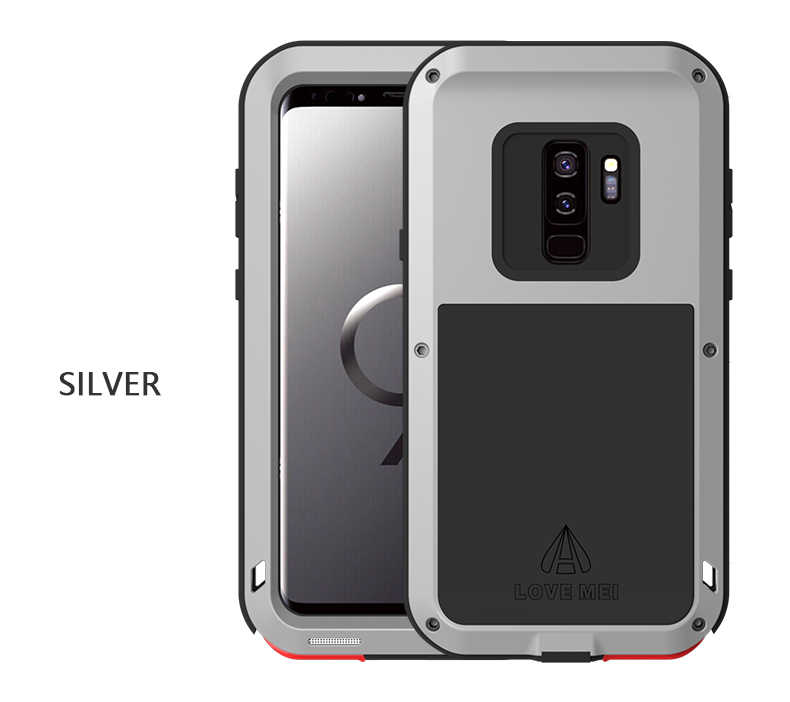 Shockproof S9 S9Plus Phone Case for Samsung Galaxy S9 Plus LOVEMEI Life  Waterproof Metal Case for Samsung S9 S9+ Full protection