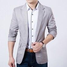 Casual Blazer Männer Mode Plus Größe Geschäfts Slim Fit Jacke Anzüge Männliche Blazer England-art-blazer-mantel-knopf-klage-männer Formale Anzug jacke