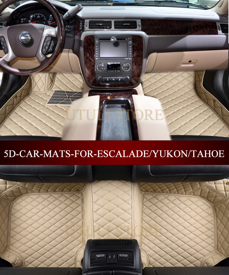 Custom Fit Carpet Floor Mats For Gmc Yukon Chevrolet Tahoe