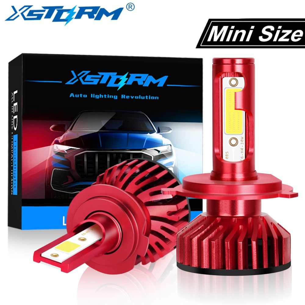 Mini Car Headlight H7 Led H1 H3 H4 H8 H11 Led Headlight Bulb HB4 HB3 H27 Turbo 50W 10000LM Auto Light Bulbs Automotive Lamp 12V