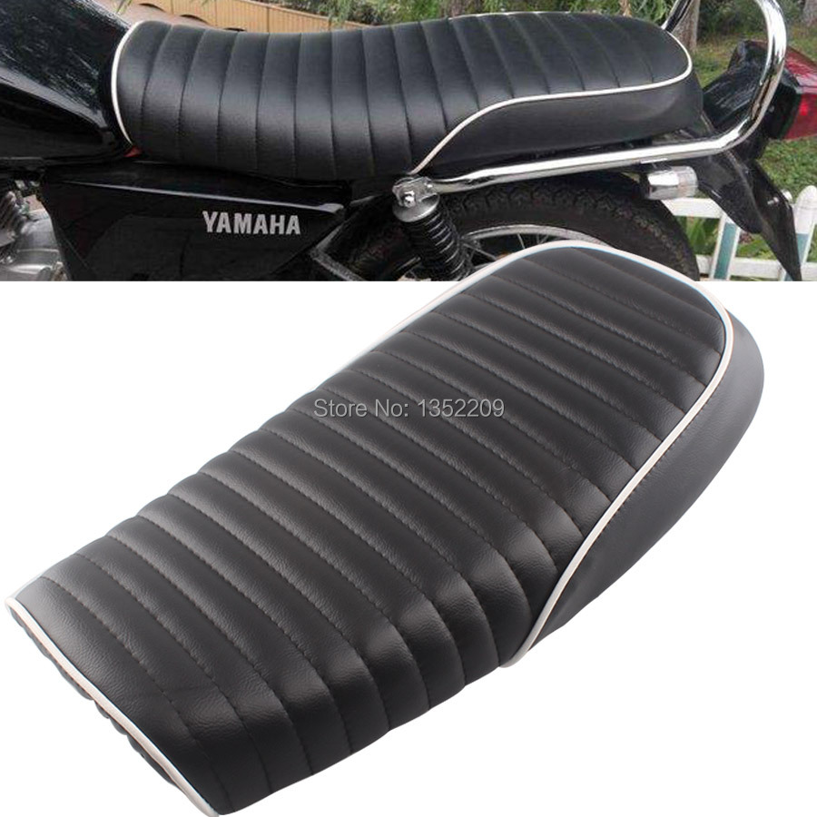 Flat Brat Styling Vintage Saddle Cafe Racer Seat Fits For Honda The Electric Plan Of Gn400 Cb200 Cb350 Cb400 Suzuki Gr650 Gs Gt T Tu250 Gn125 Gn250 On Alibaba