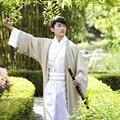 Nuevo 2017 chino antiguo hanfu traje hombres clothing tradicional china tang traje oriental chino tradicional traje de los hombres