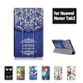 Case Для Huawei Mediapad T2 8 Pro И Huwei Honor Tablet 2 8 дюймов Tablet PC Case With Flower Stand Защитной Оболочки Подарков