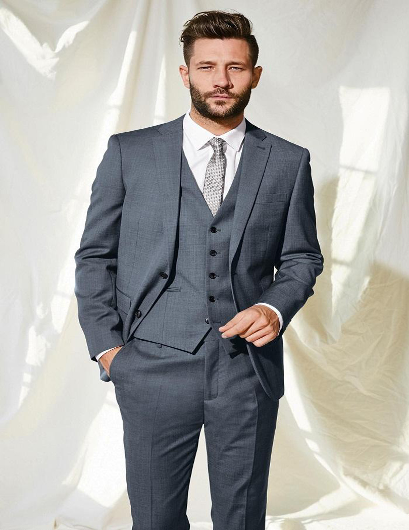 Online Get Cheap Mens Fashion Grey Suit -Aliexpress.com | Alibaba ...
