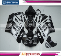 ABS Fairing Body For Honda CBR1000RR 2004 2005 Fairings Kits BLACK GUNMETAL REPSOL