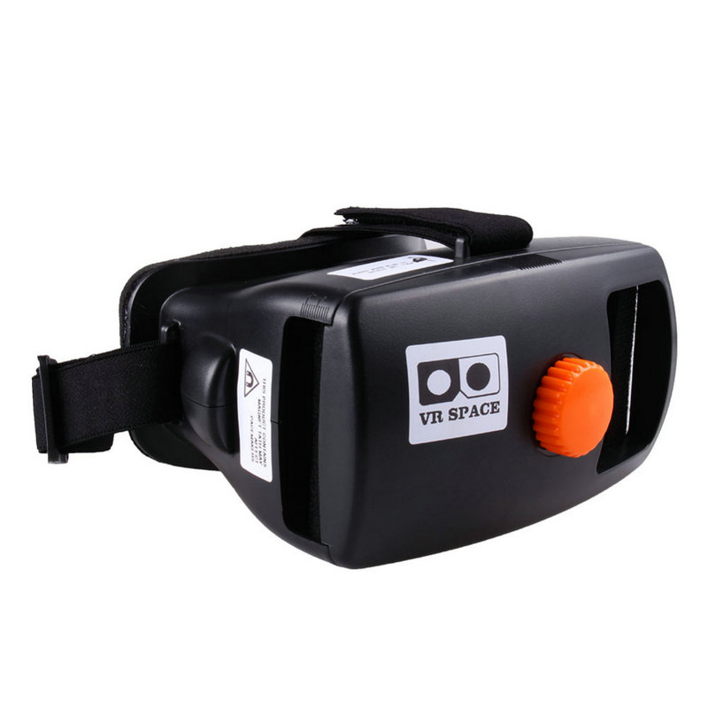 Head Mount Plastic ABS 3d VR Glasses Google Cardboard Headmount Plastic Version 3d VR Virtual Reality