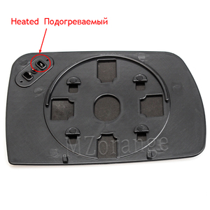 Image 5 - Calefactor para espejo retrovisor de puerta lateral izquierdo y derecho, calefactable para BMW X5 E53 2013 2016 3.0i 4.4i