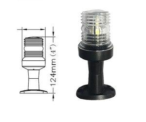 Image 3 - 12V LED Marine Boat Navigator Light All Round 360 Degree Signal Lamp 2.5W White Light