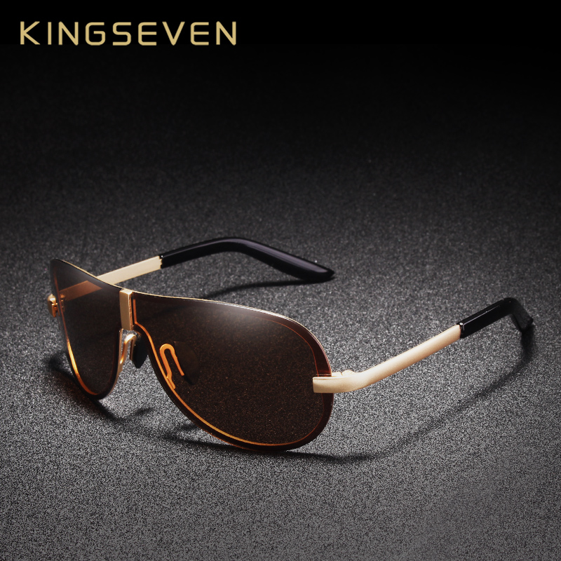 KINGSEVEN Brand Designer Sunglasses Men 2018 Polarized Driving Sun Glasses for Male Accessories Oculos de sol masculino