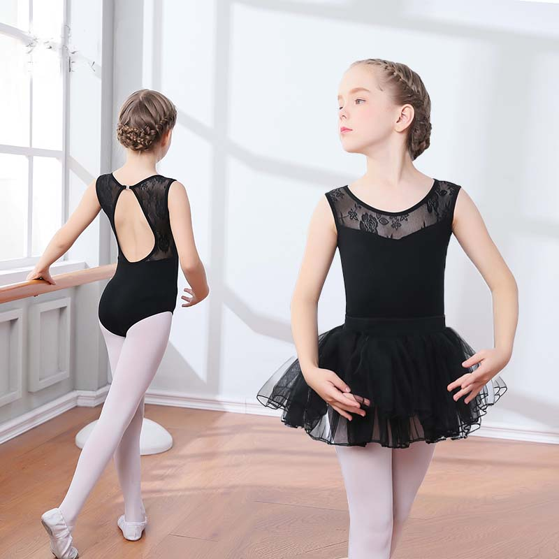 new-black-lace-mesh-font-b-ballet-b-font-leotards-girls-kids-short-long-sleeve-font-b-ballet-b-font-clothing-dancewear-children-gymnastics-leotards