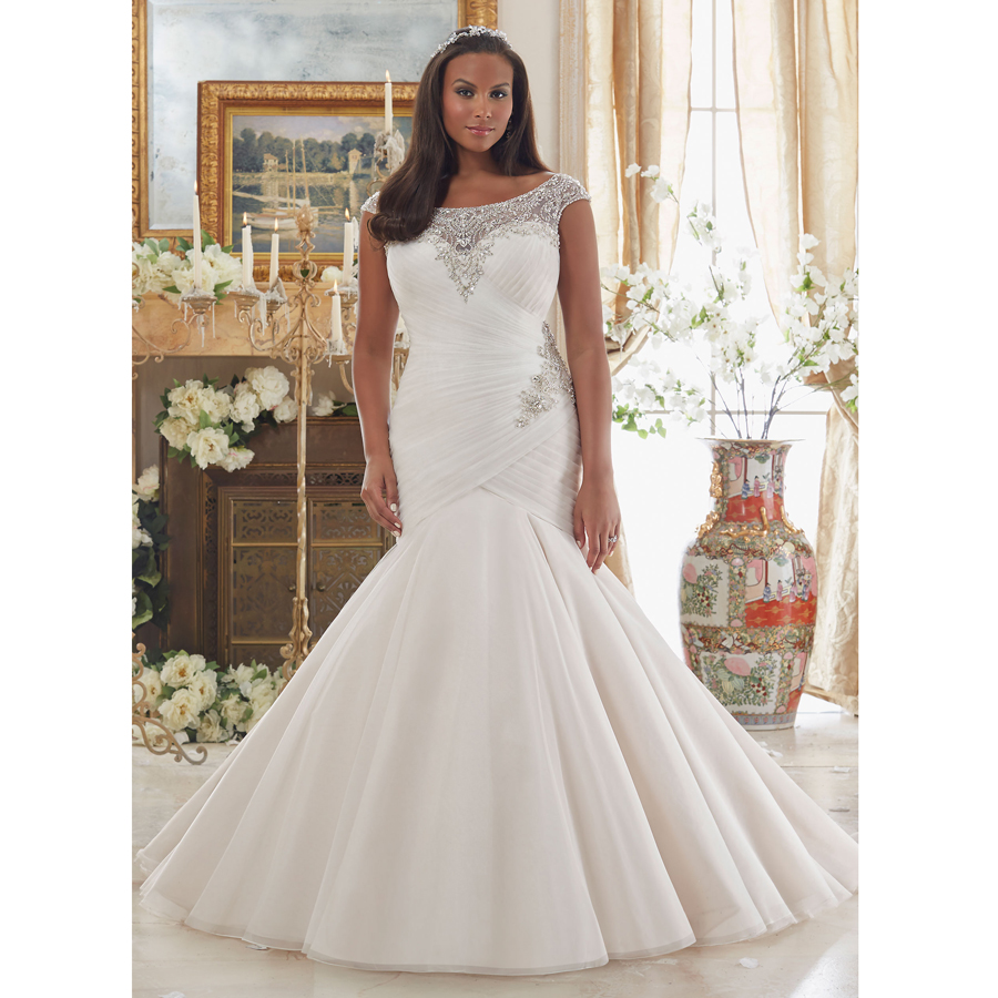 Popular crystal wedding dresses buy cheap crystal wedding for Crystal design wedding dresses price