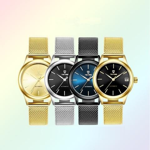 Luxury Brand TEVISE Women Watches Automatic Mechanical Bracelet Watch Ladies Waterproof Steel Dress wrist watches for women Karachi