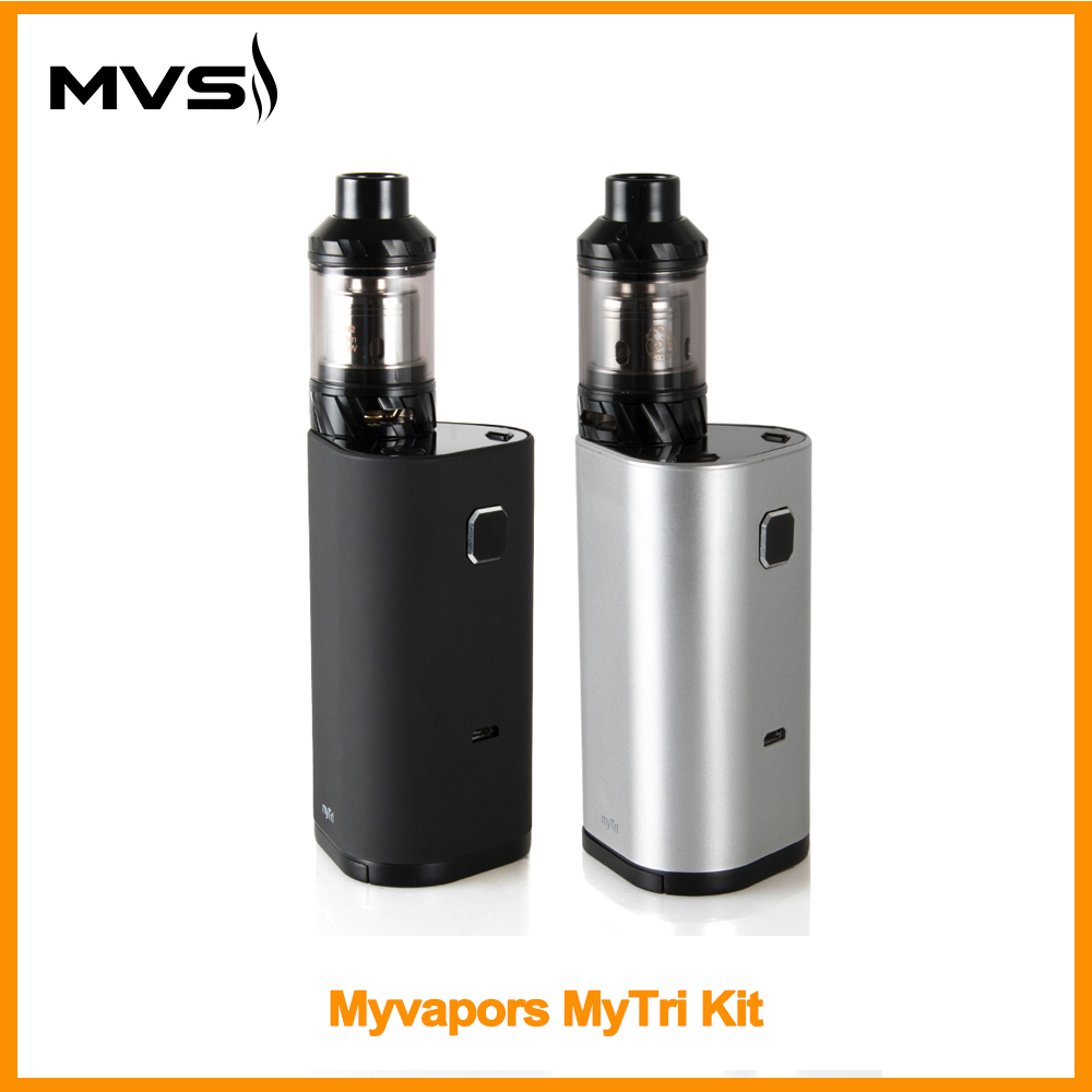 Russian Warehouse Original Myvapors Mytri Kit With Kage Atomizer Output 300w Vw/tc/tcr Mode Vpae Kit E-cig