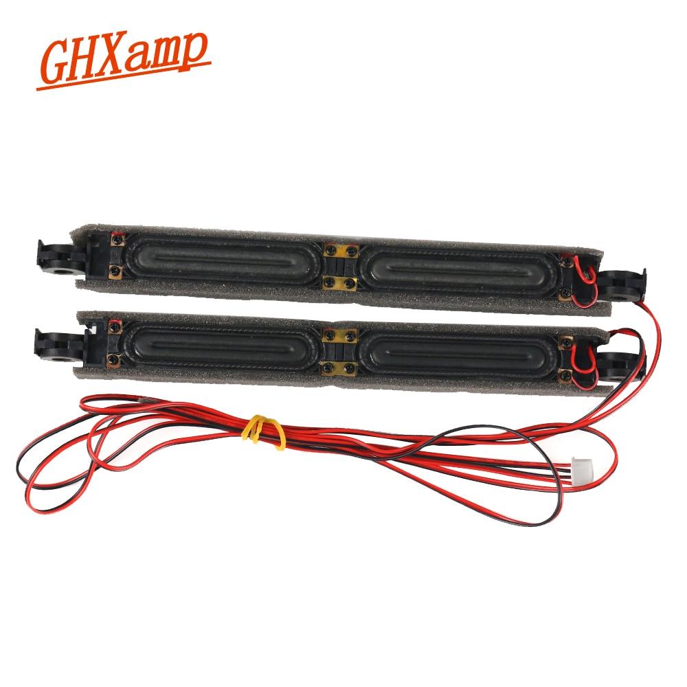 GHXAMP 8OHM 10 W LCD TV altavoz Gama Completa masaje Monitor Matchine publicidad TV accesorios de reparación DIY 227 * 20mm 1 par