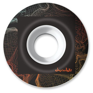 Image 2 - USA BRAND Chocolate Graphics Skateboard Wheels 51/52/53/54/55mm PU Skate Wheels Street Road Four Wheels Skateboarding