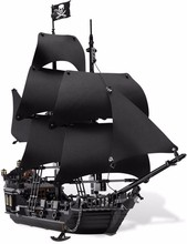 LEPIN 16006 The Black Pearl Building Blocks Kits figures Bricks Toys Compatible Legoed 4148 Christmas Gifts Educational Toy
