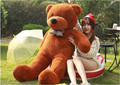 Бесплатная доставка прекрасный гигантских плюшевых медведей чучела животных/big bear плюшевые игрушки/большой плюшевый медведь/огромного плюшевого медведь 100 см