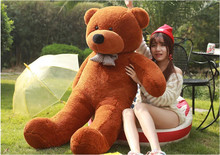 Free shipping lovely giant teddy bears stuffed animal big bear plush toy large teddy bear huge